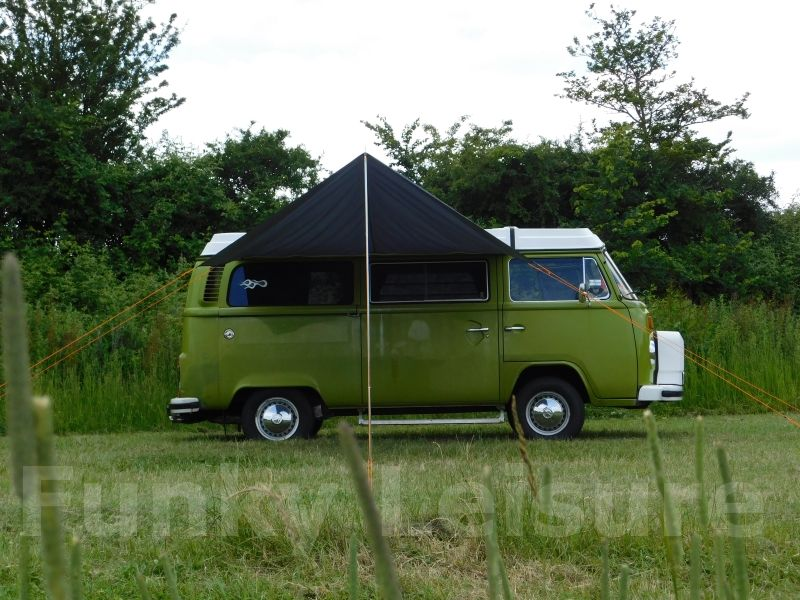 Vw Type 2 T25 Campervan Sun Canopy Awning Azure Blue